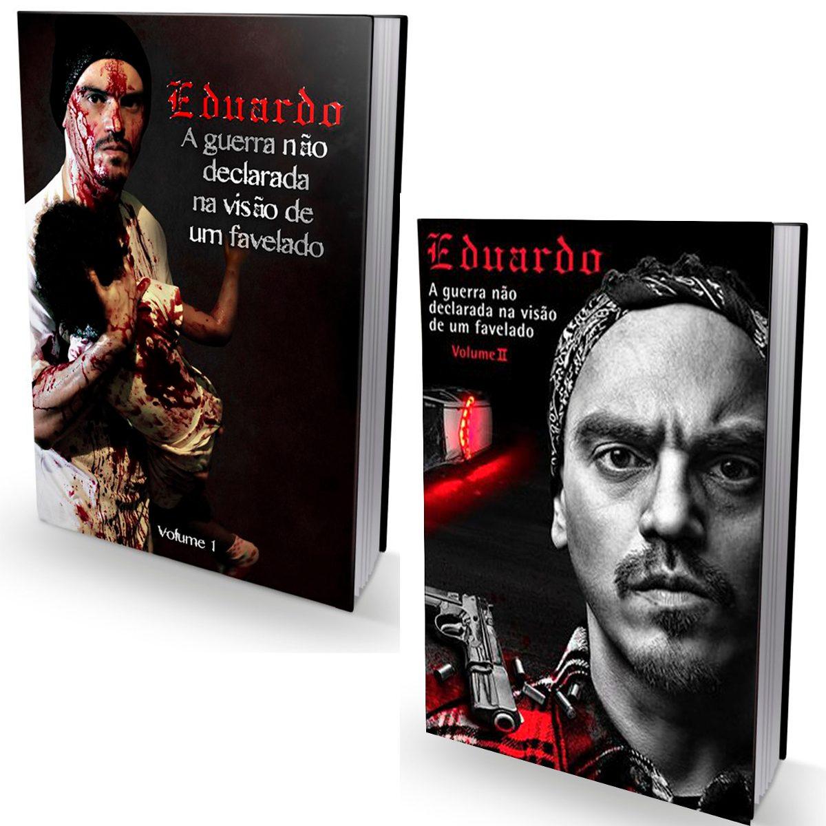 Kit com 2 livros A Guerra Não Declarada na Visão de Um Favelado Volume I e Volume II.  - LiteraRUA