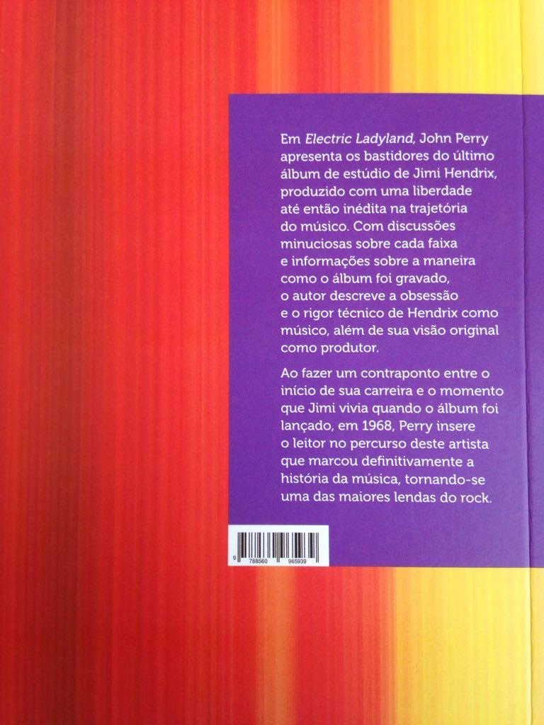 Eletric Ladyland - Jimi Hendrix - O Livro do Disco - John Perry  - LiteraRUA