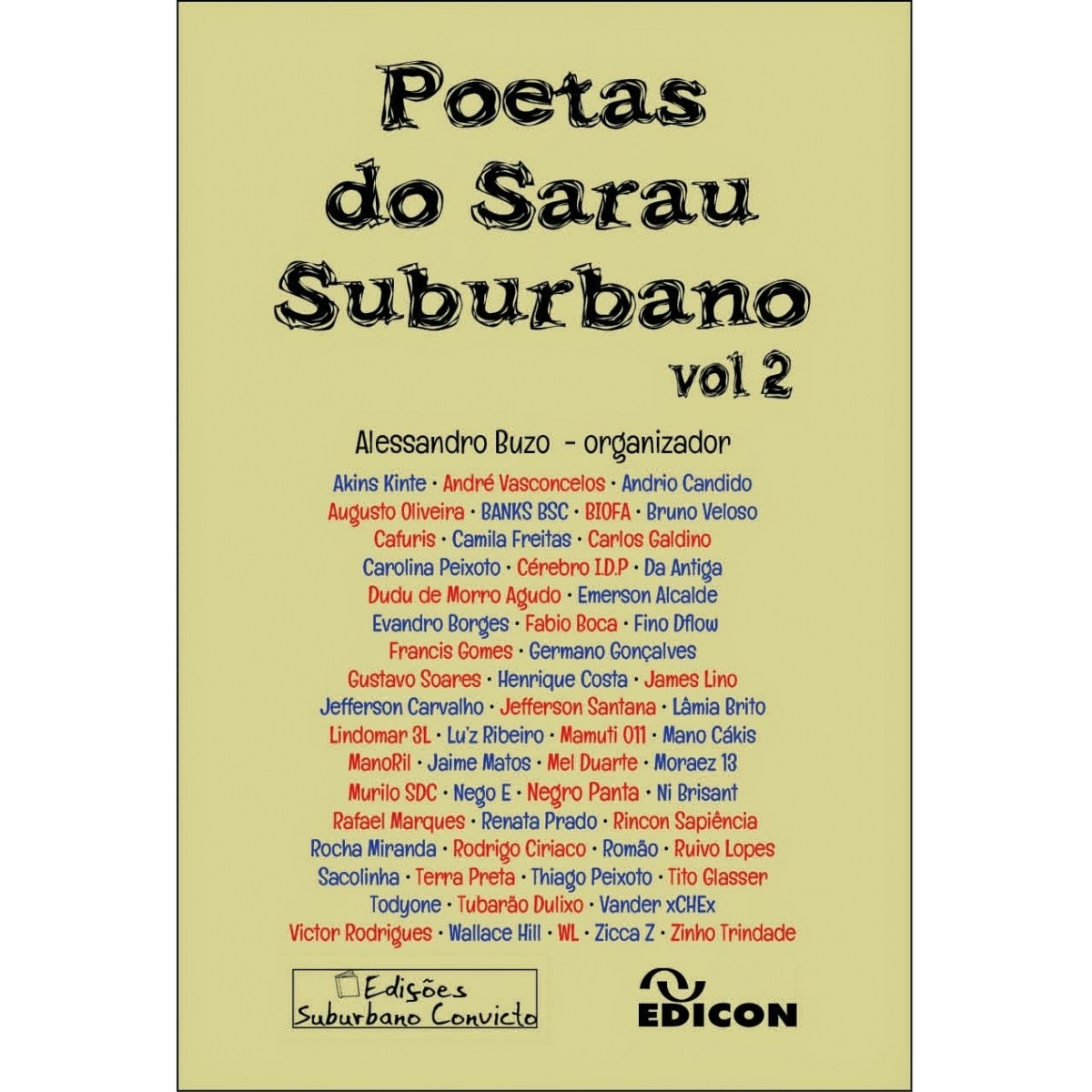 Poetas do Sarau Suburbano Vol. 2  - LiteraRUA