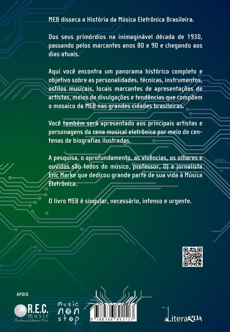 MEB - A História da Música Eletrônica Brasileira  - LiteraRUA