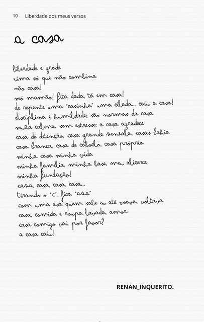Liberdade Dos Meus Versos  - LiteraRUA