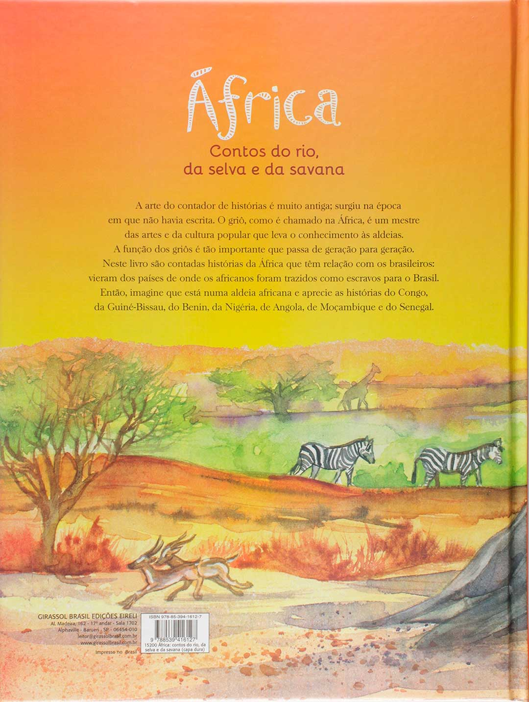 África Contos do rio, da selva e da savana  - LiteraRUA