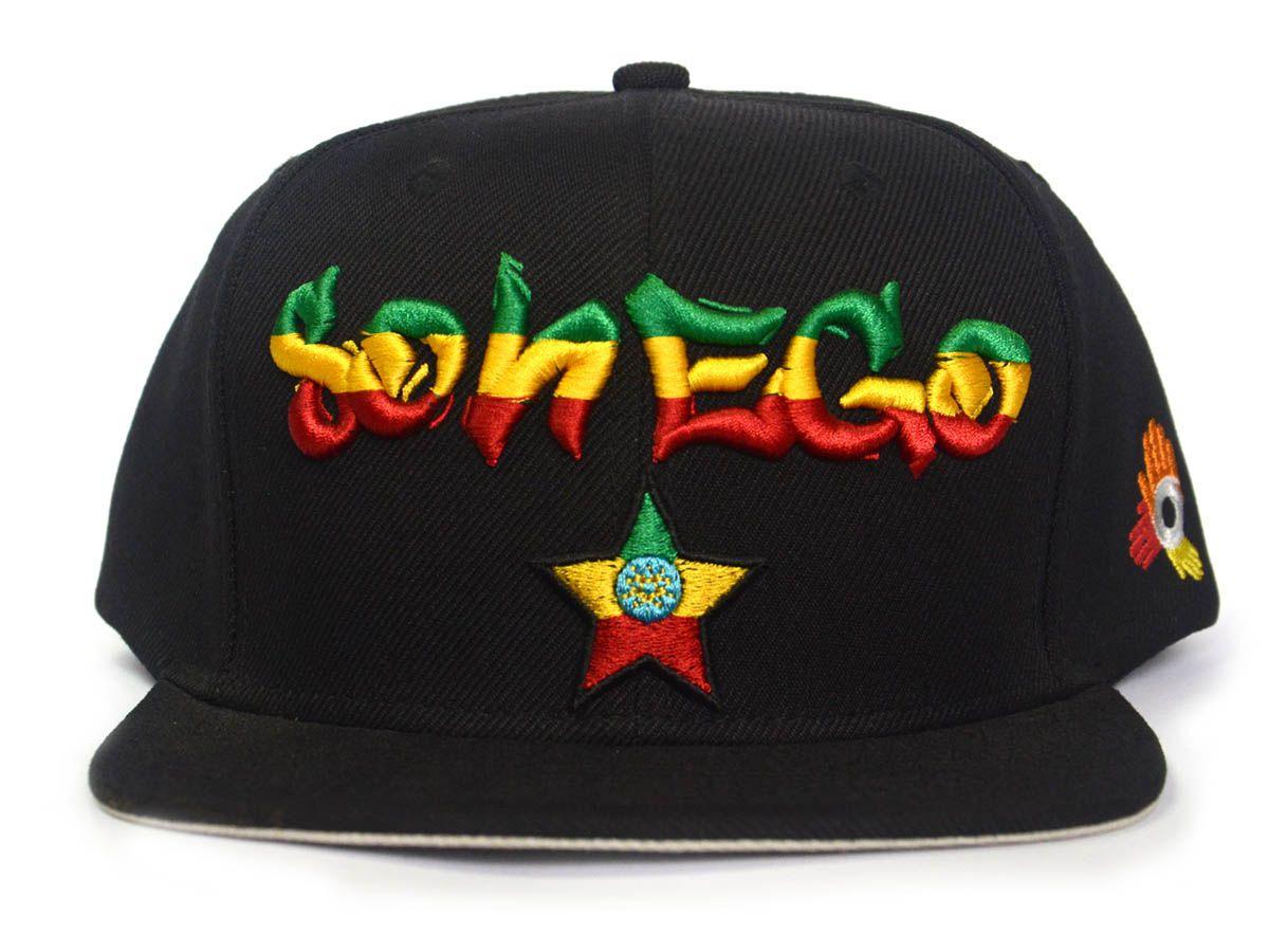 Boné Sonego Preto Reggae