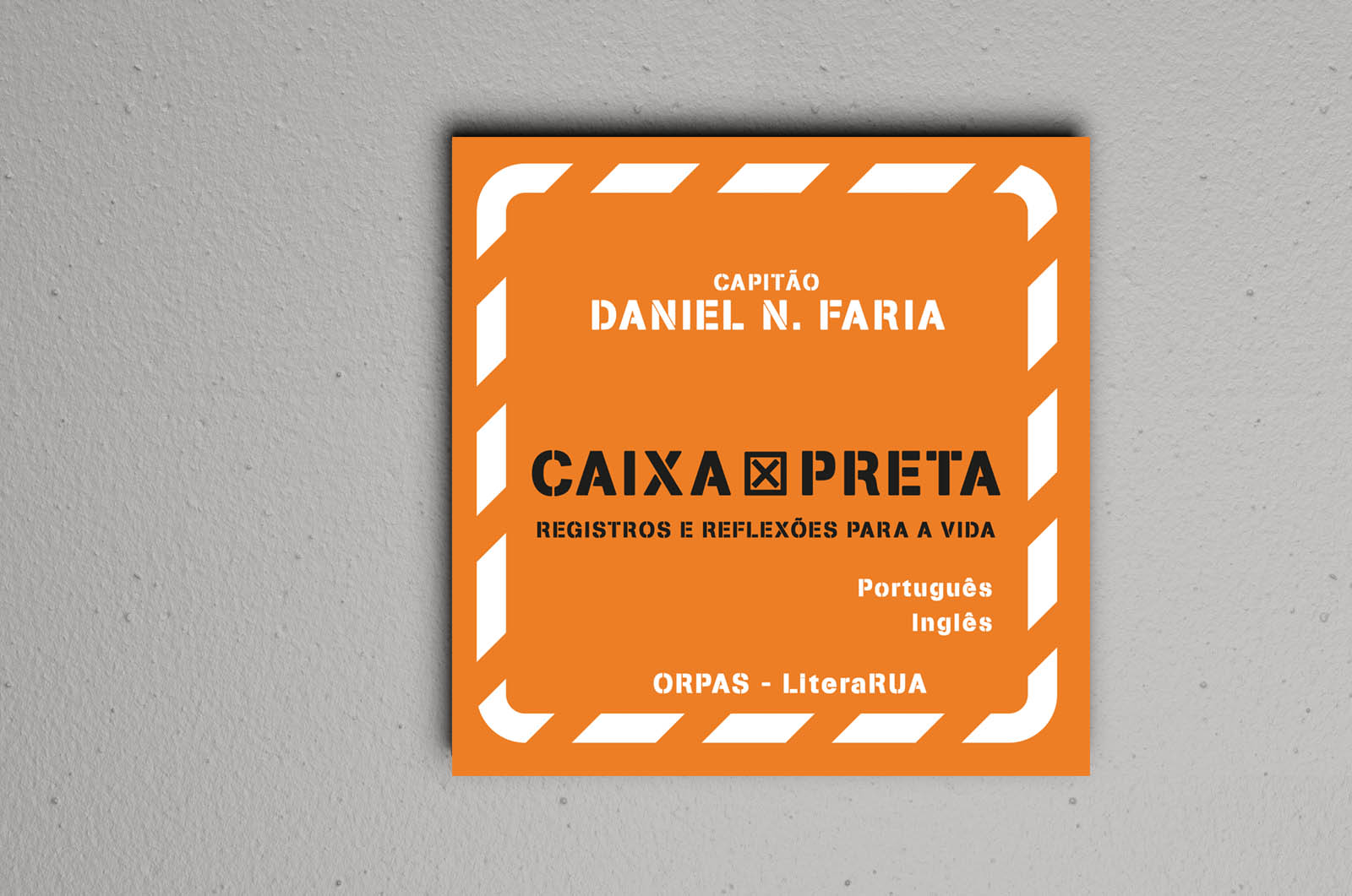 Caixa Preta - Registos e Reflexões para a Vida - Daniel N. Faria  - LiteraRUA