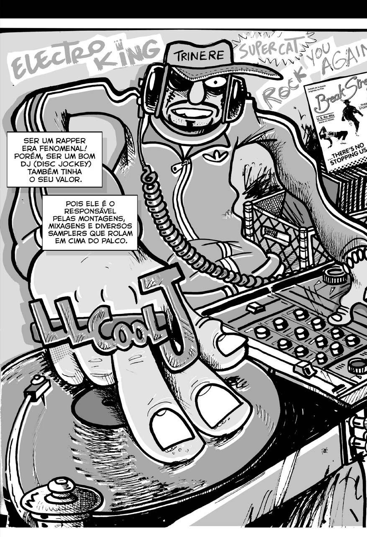 Na Quebrada - Quadrinho de Hip-Hop  - LiteraRUA