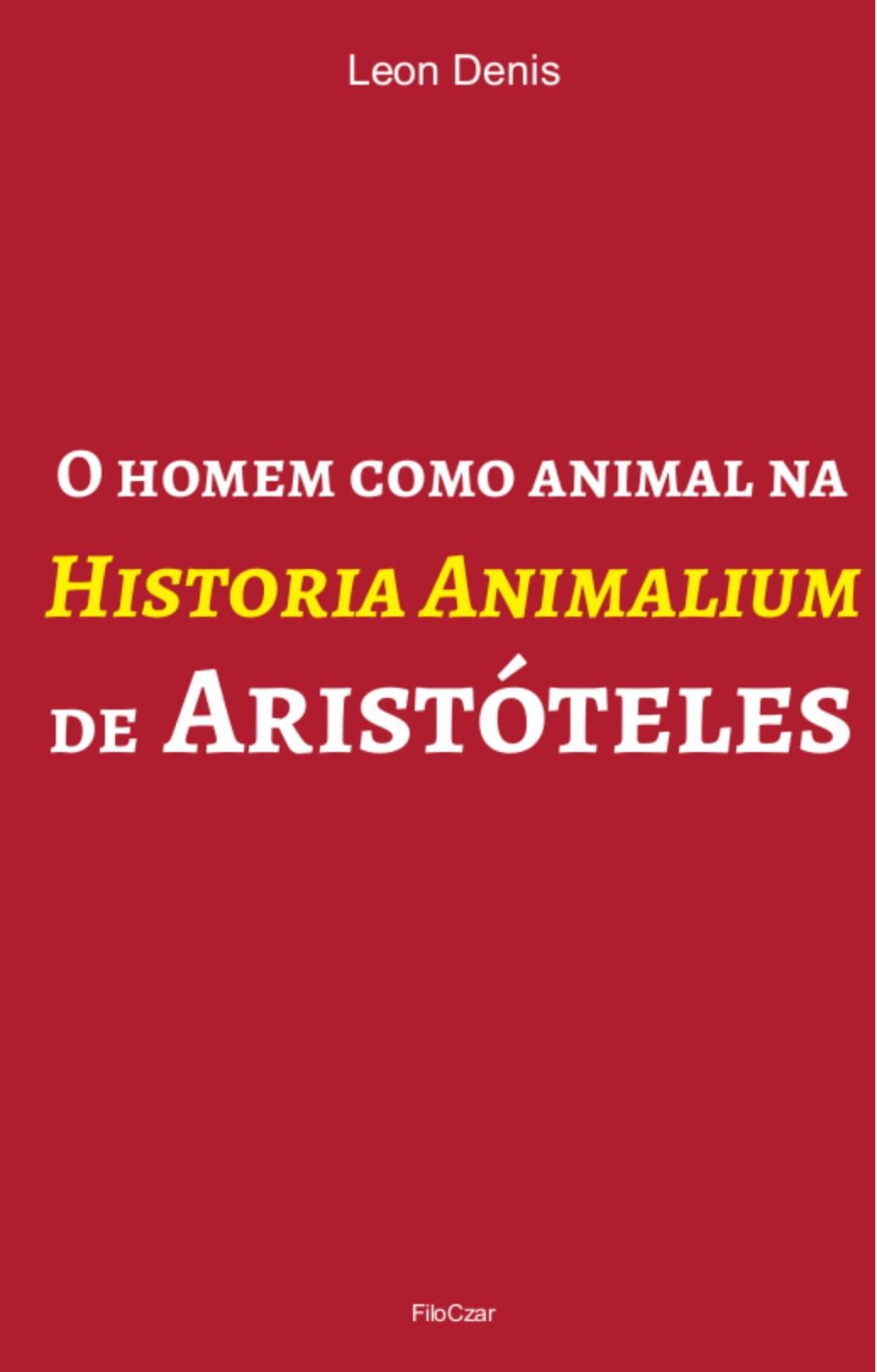 O homem como animal na História Animalium de Aristóteles