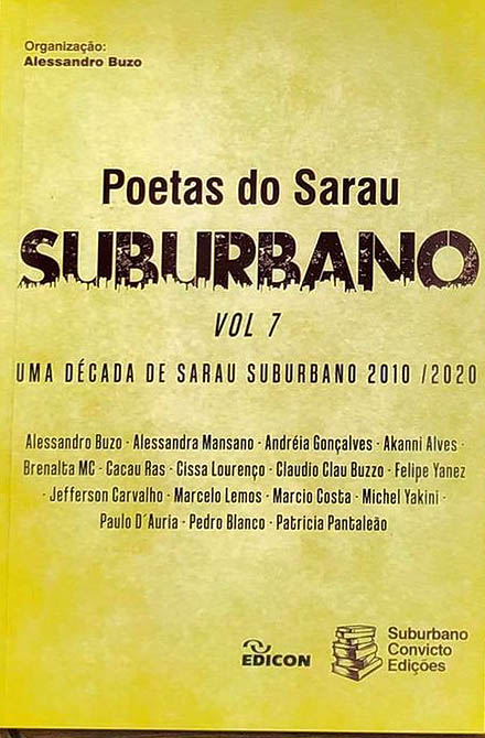 Poetas do Sarau Suburbano - Vol. 7