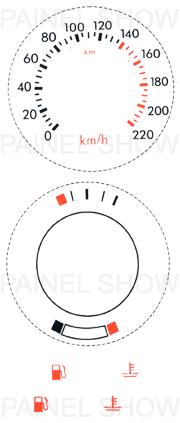 X Kit Neon p/ Painel - Cod71v220 - Escort  - PAINEL SHOW TUNING - Personalização de Painéis de Carros e Motos