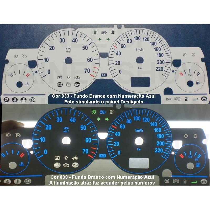 Kit Translúcido p/ Painel - Cod606v220 - Astra Zafira de 2004 em diante  - PAINEL SHOW TUNING - Personalização de Painéis de Carros e Motos