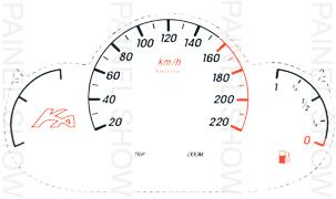 Kit Neon p/ Painel - Cod85v220 - Ford KA  - PAINEL SHOW TUNING - Personalização de Painéis de Carros e Motos