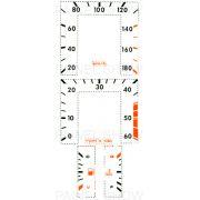 X Kit Neon p/ Painel - Cod55v180 - Opala / Caravan