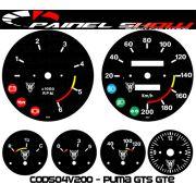 Kit Translúcido p/ Painel - Cod504v200 - Puma GTS GTE