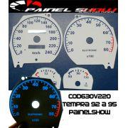 Kit Translúcido p/ Painel - Cod630v220 - Tempra 92 a 95