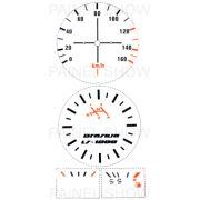X Adesivo p/ Painel - Cod07v160 - Brasilia 80 a 82