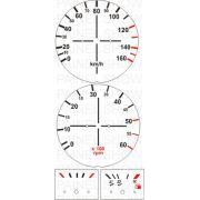 X Adesivo p/ Painel - Cod09v160 - Brasilia 80 a 82