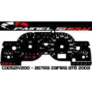 Acetato Translúcido p/ Painel - Cod521v200 - Astra até 2003 Referencia 521