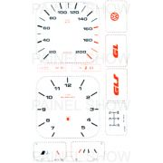 X Kit Neon p/ Painel - Cod17v200 - Gol / Parati