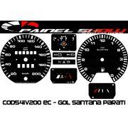 Kit Translúcido p/ Painel - Cod541v200 Ec - Gol Parati Santana Passat