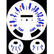Kit Translúcido p/ Painel - Cod551v140 - Jeep Willys