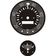 Kit Translúcido p/ Painel - Cod565v120 - Kombi Jarrinha Antiga 120 km/h