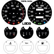 Kit Translucido p/ Painel - Cod660v180 - Lada Niva 4x4