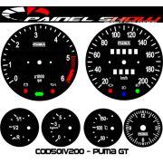 Kit Translúcido p/ Painel - Cod501v200 - Puma GT