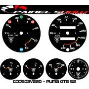 Kit Translúcido p/ Painel - Cod503v220 - Puma GTB S2