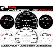 Kit Translúcido p/ Painel - Cod510v200 - Corsa sem Contagiros