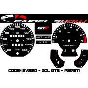 Kit Translúcido p/ Painel - Cod543v220 GTS - Gol Passat
