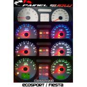 Kit Translúcido p/ Painel - Cod550v220 - Ecosport ou Fiesta