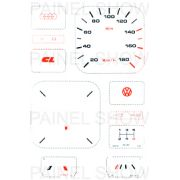 X Kit Neon p/ Painel - Cod16v180 - Gol 1000 Cht ou CL