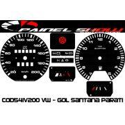 Kit Translúcido p/ Painel - Cod541v200 Vw - Gol Parati Santana Passat
