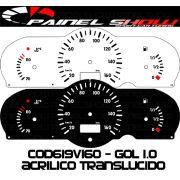 Kit Translucido p/ Painel - Cod619v160 - Gol G2 Bola 1.0