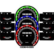 Kit Acrilico p/ Painel - Cod641v220 - Monza / Kadet ou Ipanema