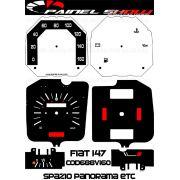 Kit Translucido p/ Painel - Cod688v160 - Fiat 147 Spazio Panorama