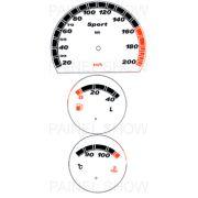 X Kit Neon p/ Painel - Cod46v200v2 - Corsa até 2003