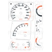 Kit Neon p/ Painel - Cod75v220 - Escort XR3 / Verona