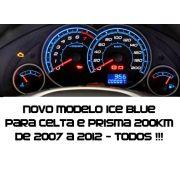 Acetato Translucido p/ Personalização de Painel - Show ! Iceblue Cod644v200 Celta Prisma Joy Vhc  2006 Em diante Mostrador Tuning