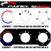 Acetato de Controle de Ar Ventilação Pelicula - Astra 99 em diante - cod907