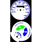 Kit Translúcido p/ Painel - Cod423v170 - CG150 KS / FAN150 Modelo 170 km/h