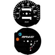 Kit Acrilico p/ Painel - Cod435v140 - CG injeção eletronica ou MIX