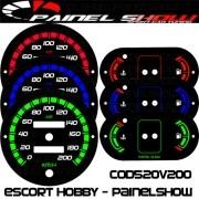 Kit Translucido P/ Painel - Cod520v200 - Escort Hobby