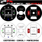 Kit Acrilico Translucido p/ Painel - Cod702v160 - Corcel 1
