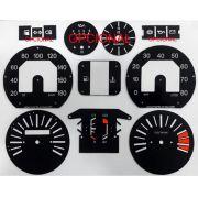Kit Translúcido p/ Painel - Cod581v180 - Fiat 147 Rallye com Opcionais