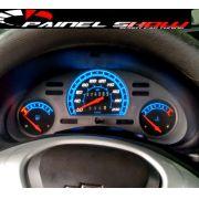 Acrilico Corsa sem Contagiros Cod669v200 Mostrador Acetato Translucido p/ Personalização de Painel - Show ! 669v200