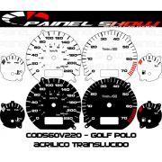 Kit Translúcido p/ Painel - Cod560v220 - Golf com Ponteiro Acrilicoe