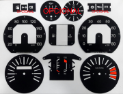 Kit Translúcido p/ Painel - Cod581v180 - Fiat 147 Rallye