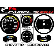 Kit Translucido Painel Show - Cod720v180 Chevette Top
