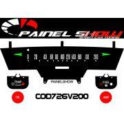Kit Translucido para Painel de F100 Carro Caminhonete Antiga - Cod726v200