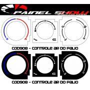Acetato de Controle de Ar Ventilação - Palio Siena G2 - cod908